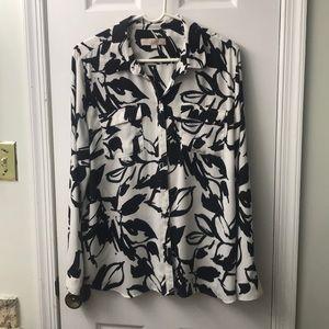 Worked lightweight LOFT blouse